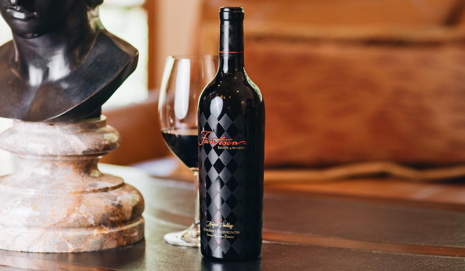 Fantesca wine bottle